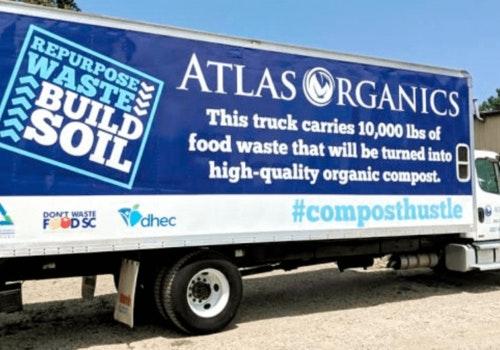 Atlas ORganics Truck